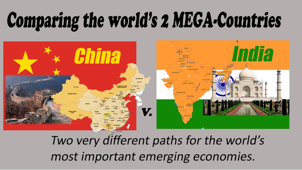 A useful approach to understanding China's trade is to compare it to other emerging markets, like India.